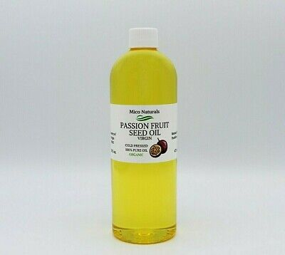 Passion Fruit seed Oil/ Maracuja Oil Virgin Cold Pressed from 1 oz to 1 gal/ 7lb
