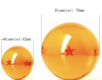 New 7Pcs Stars Dragon Ball Z Crystal Balls Set Collection In Box Set Gifts