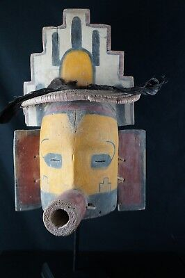 60# Antique KACHINA Mask  - Pueblo, Native American