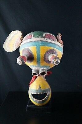 62# Vintage Kachina MASK  - HOPI, Native American, from 60/70s