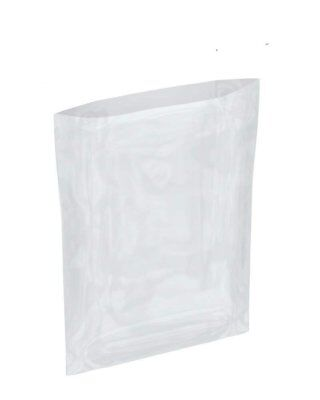 "500 Pack Flat Poly Bags 12"" x 14"". Clear polyethylene Bags for Packing. 4 mil."
