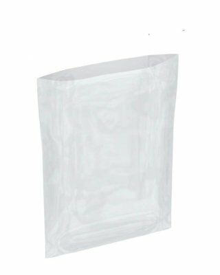 "1000 Pack Flat Poly Bags 9"" x 16"". Clear polyethylene Bags for Packing. 4 mil."