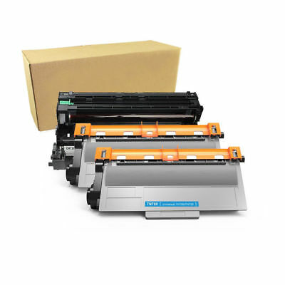 4PK TN750 Toner for Brother DCP-8110DN DCP-8150DN US Stock 2PK DR720 Drum