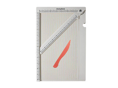 """Bira 12"""" x 6 3/4'' Measuring and Scoring Board for Envelope and Gift Box Maker"""