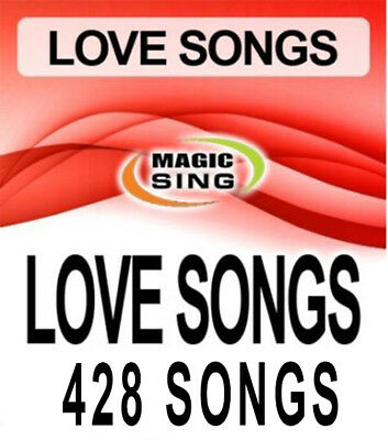 Magic Sing Karaoke Mic 428 Songs Best Love Song Selections Song Chip Leadsinger