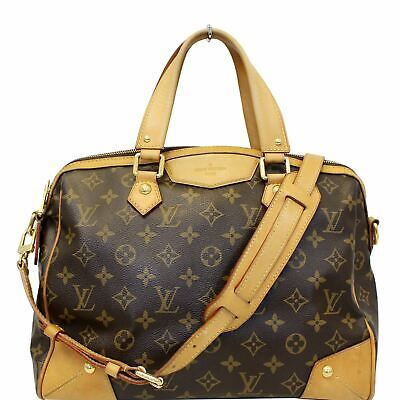 b0464e64089c LOUIS VUITTON MONOGRAM Canvas Retiro PM Brown Shoulder Bag ...