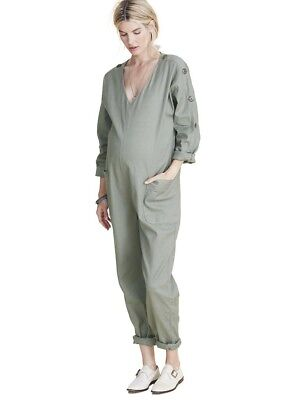 Hatch Collection Maternity Louisa Jumper Jumpsuit Overalls Size 1 Small