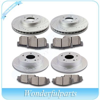 2002 2003 2004 For Acura RSX Rear Ceramic Brake Pads