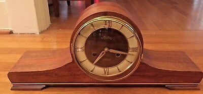 "Vintage ""mauthe"" German Shelf Mantel Clock"