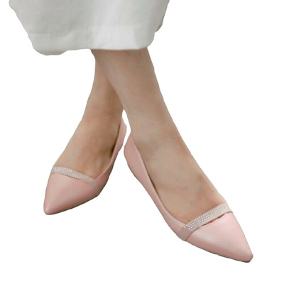 New Women Ballet Flats Pumps Pointy Toe Casual Comfort Flat Plus Size Shoes