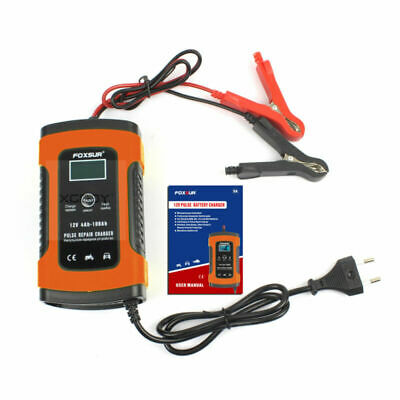 12V Auto Motorcycle Car Truck Battery Charger Pulse Repair Lead Acid Starter