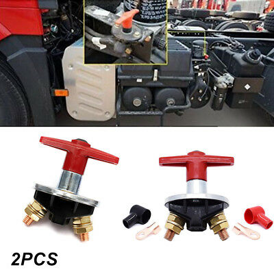 2PCS Battery Master Isolator Disconnect Cut OFF Switch Marine Car Boat RV Trucks