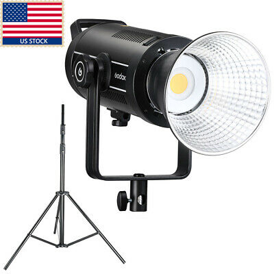 US Godox SL-150 150W Studio Light LED Continuous Light Bowens Mount Stand Kit