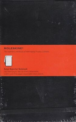 Reporter Notebooks: Ruled Reporter by Moleskine Staff (2008, Print, Other, Large