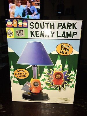 South Park Kenny Lamp New In Box Mint Extremely Rare