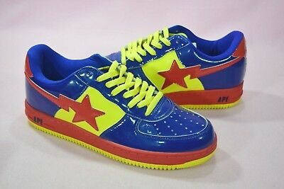 ad6dcb8d RARE A Bathing Ape DC Comics Bapesta Superman Size 10.5 Nigo Pharrell  Roadsta
