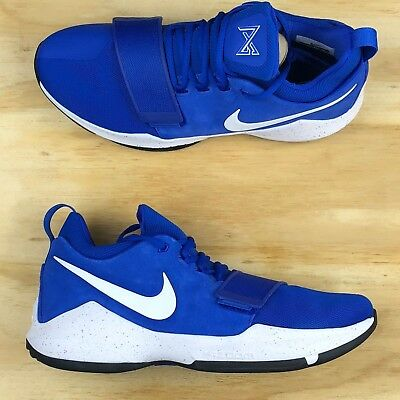 Nike PG 1 Paul George Game Royal Blue White Basketball Shoes [878627-400] Size