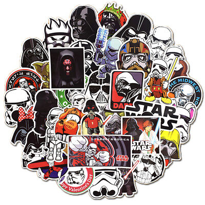 50x Star Wars Skateboard Stickers Bomb Vinyl Laptop Luggage Decals Dope Sticker