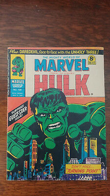 Marvel Comic/The Mighty World of Marvel/Incredible Hulk Issue 139 - 31 May 1975