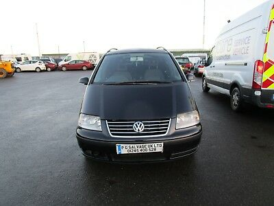 2008 (58) Vw Sharan 1.9 Diesel Automatic 7 Seater Spares Or Repairs Hpi Clear
