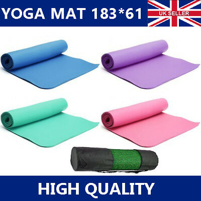 Yoga Mat EXTRA THICK Non Slip Exercise/Gym/Camping/Picnic 1830mm x 610mm EVA UK