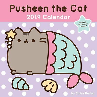 Pusheen the Cat 2019 Wall by Claire Belton Computers & Internet Humor Calendar