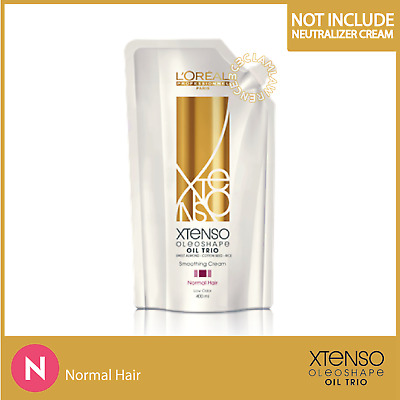 400g ONLY N NORMAL HAIR LOREAL XTENSO MOISTURIST Straight SMOOTHING CREAM