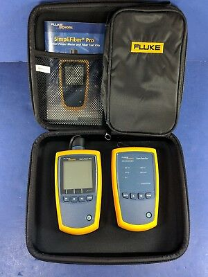 New Fluke SimpliFiber Pro Optical Power Meter and 850/1300 Source