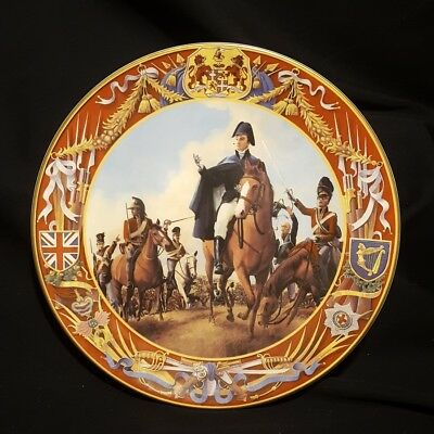 Wellington at Waterloo, Royal Doulton Plate PN65 by Andrew Wheatcroft 788/3500