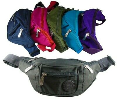 Boys Girls Kids Fanny Pack Travel Bum Bag Money Waist Belt Walking Holiday Pouch