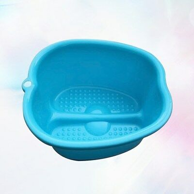 1pcs Foot Bath Practical Plastic Thicken Large Foot Tub Foot Basin for Hotel Spa
