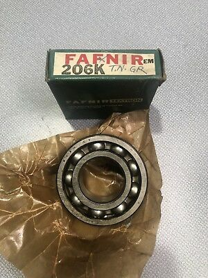 "ER-19 FAFNIR MOUNTED BALL BEARING ER19 BLACK OXIDE 1-3//16/"" BORE 62MM OD"