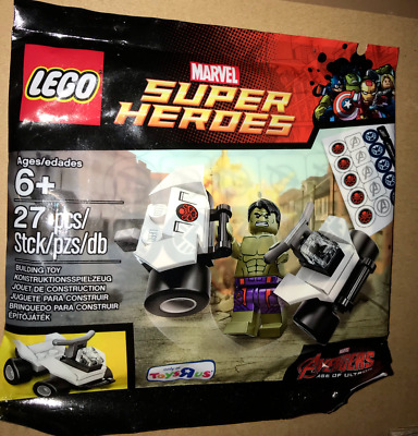 LEGO Super Heroes 5003084 THE HULK mit Auto DC Universe Marvel Avengers