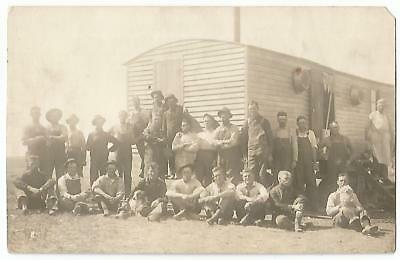 Lakota N.Dakota ND (Nelson Co.) Threshermen Farmers Grub Chow Wagon RPPC c.1910
