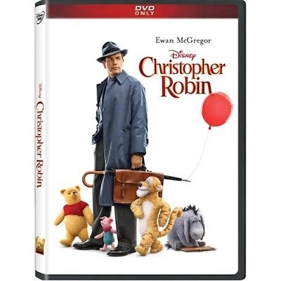 Christopher Robin DVD New & Sealed Free Shipping Included!