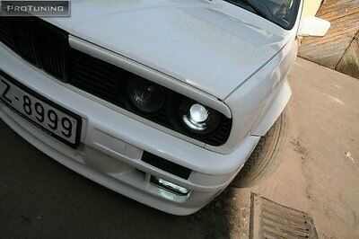 For BMW 3 series E30 Eyebrows headlight lightbrows eye lids brows covers mask M3