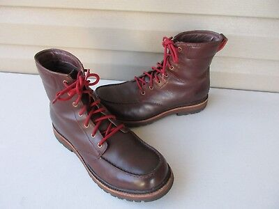 d2ebe03562c NEW UGG LEATHER Boots NOXON 1003273 Grizzly Brown Men's Size 8.5 ...