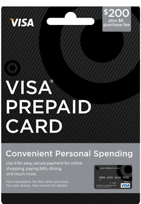 $400 VISA CARD ACTIVATED No Fees After Purchase