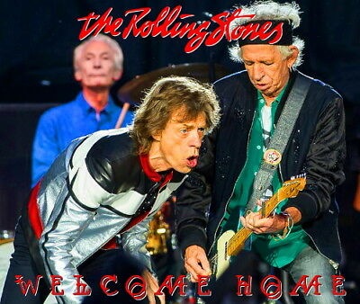 The Rolling Stones - LONDON 2018 TWO SHOWS LIVE 4CD + 2 BONUS DVDR