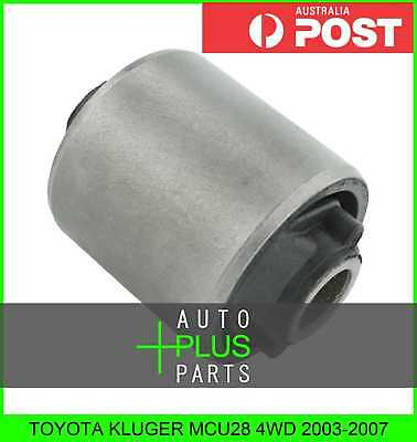 Fits TOYOTA KLUGER MCU28 4WD Bush For Rear Axle Knuckle Hub Assembly Rubber