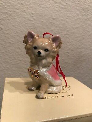 Chihuahua DNC Collections Porcelain Christmas Ornament