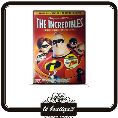 The Incredibles (DVD, 2005, 2-Disc Set)