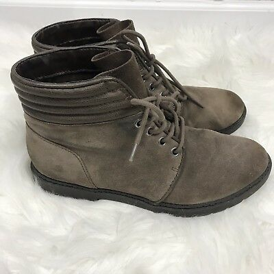 39ff66832f96 Boots Circus By Sam Edelman Suede Lace Up Phoebe Ash Ash Cow Women 9 Bootie