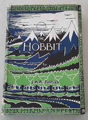 The Hobbit Tolkien Early Printing