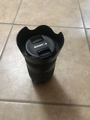 Canon EF-S 55-250mm F4-5.6 IS STM Lens With Hood