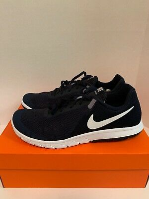 ce5e653228fd Nike Flex Experience RN 6 Dark Obsidian Wht 881802-403 Men s Running Shoes  Sz 11