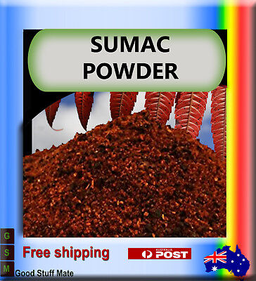 Au Seller Organic Premium Sumac Powder Very High Quality Fast Free Shipping
