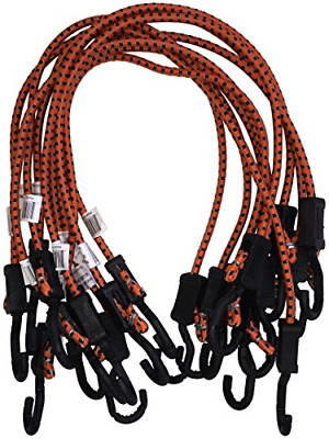 Kotap MABC-32 Adjustable Bungee Cords with Black Accents, 32-Inch, Orange