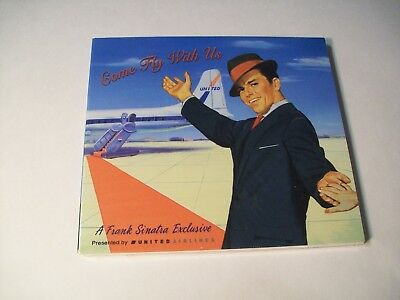 COME FLY WITH US FRANK SINATRA EXCLUSIVE CD UNITED AIRLINES 2000 rare PROMO