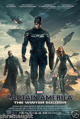 Captain America: The Winter Soldier 3D Blu-Ray Disc Only - Authentic Us